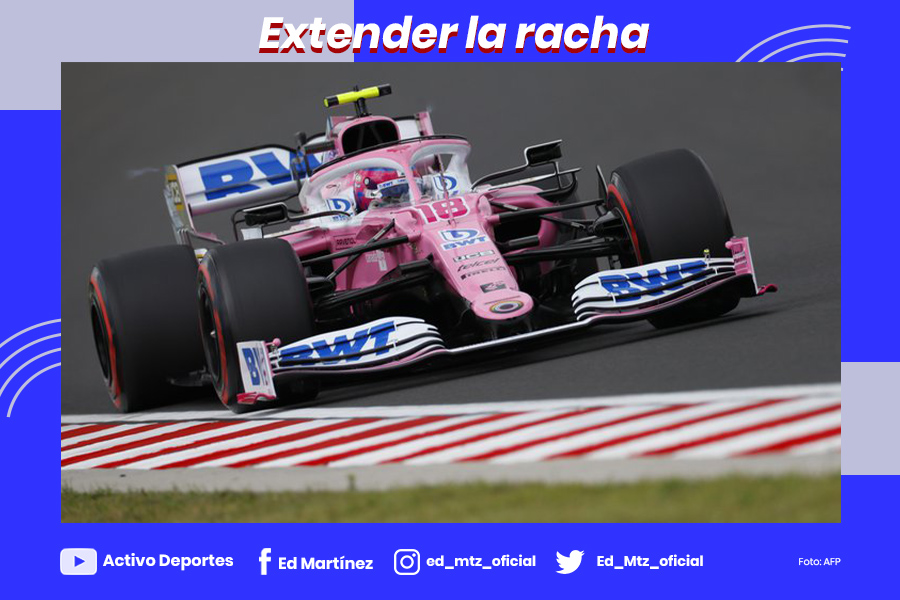 CHECO PEREZ RACIN POINT CONTINUA
