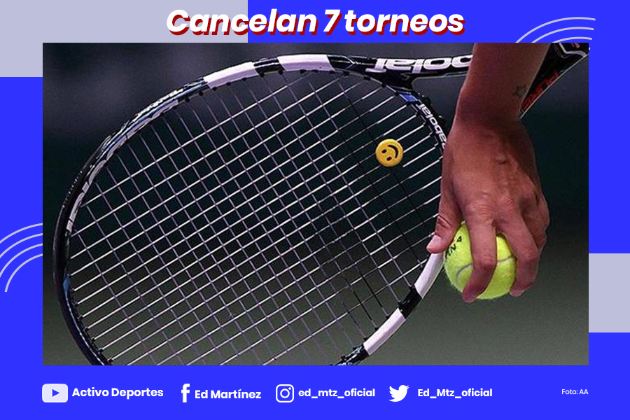 TENNIS 2020 CANCELAN